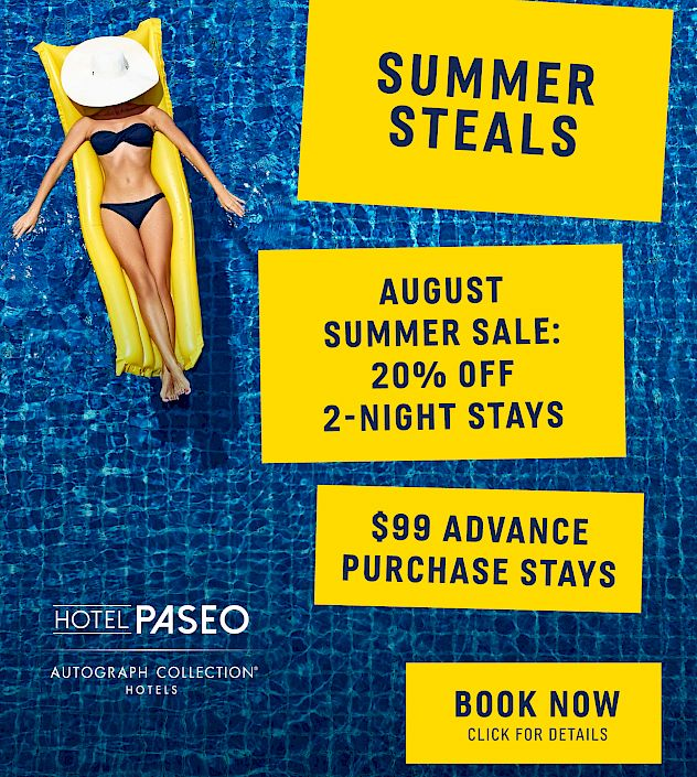 HOTEL PASEO™ - Experience True Luxury | Palm Desert CA Boutique Hotels